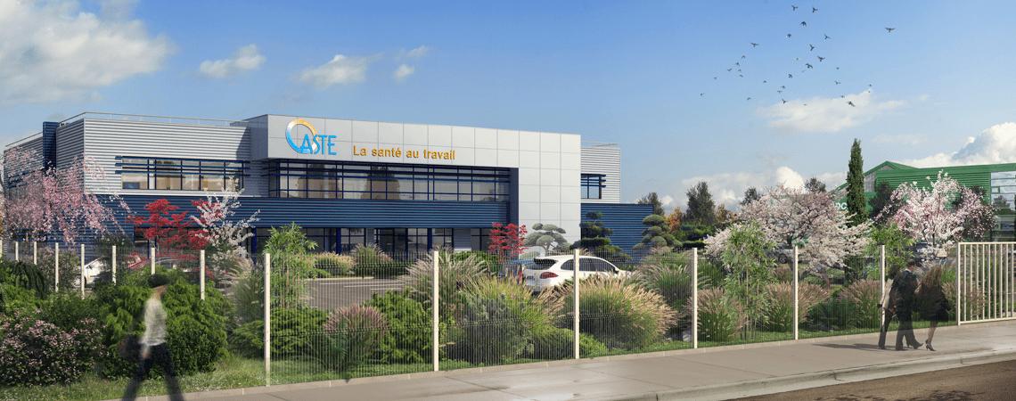 Nouveau centre médical à Evry